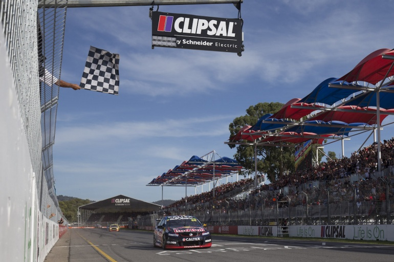 Won First Race of the Year - Clipsal