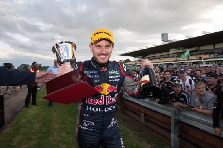 Jamie Whincup wins Sandown 500 in 2013