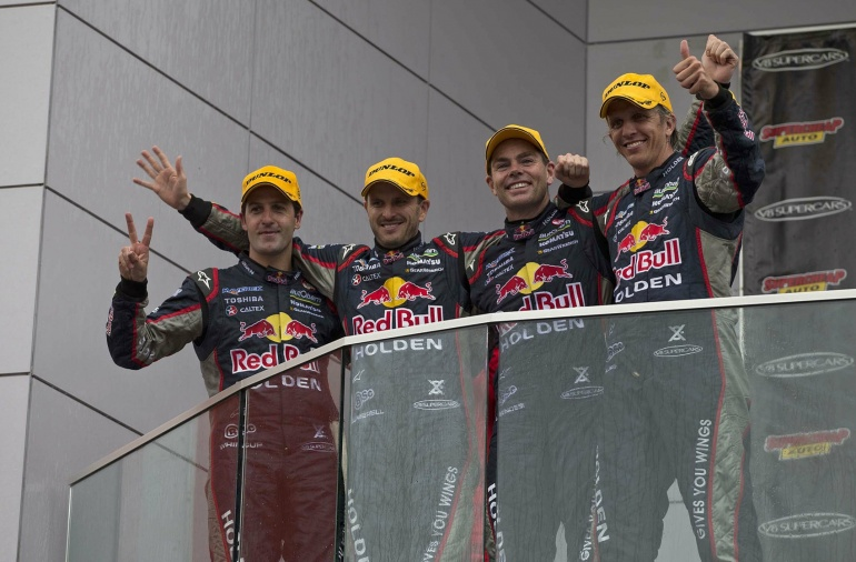 Red Bull V8 Racing Team in Bathurst