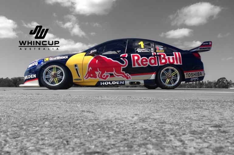 V8 racing car of Jamie Whincup